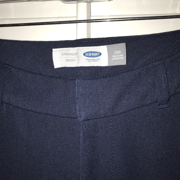 Old Navy Pants - Old Navy Straight 28 inseam trousers 00 Regular